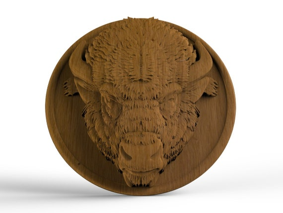 CarvedLion Head Carving Wood furniture appliques Furniture Onlay Wood rosette wood carvings wood wall art Round Rosette