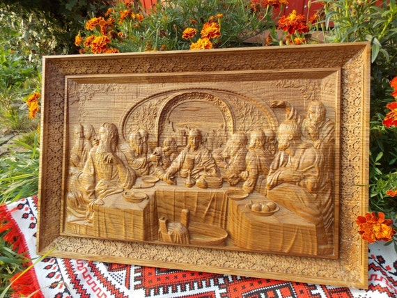 Amazon the last supper durable unique christian gift wood