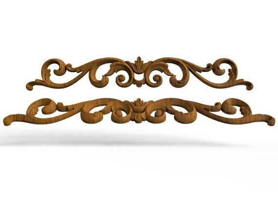 17 Furniture Wood Appliques Onlay Decor, Wood Appliques For Furniture