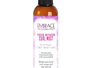 EMBRACE Tress Refresh Curl Mist - Refresh natural hair and curls with this mist!