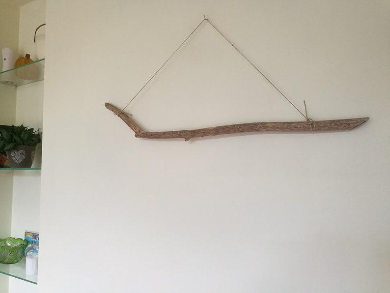 Hangable Driftwood Beach Decor Large Driftwood Piece Driftwood Art DIY Driftwood Wall Hanging Art 30.5