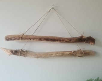 """Drift Wood Dowels For Weaving & Macrame Wall Hanging Driftwood Branches Crafting Sticks 15.5-17""""/39.5-43 cm"""