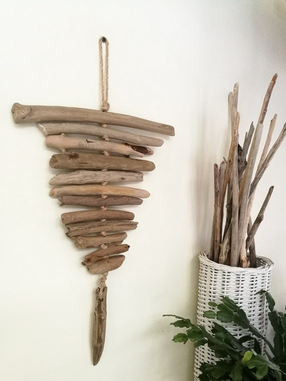 Home Decor Driftwood Wall Art Driftwood Wall Hanging Lovely Etsy