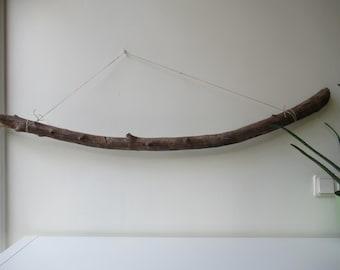 """Beach Wall Decor DRIFTWOOD Piece Large Driftwood Branch Wall Hanging Art 49""""/125 cm"""