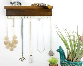 Jewelry Organizer For Necklaces or Bracelets
