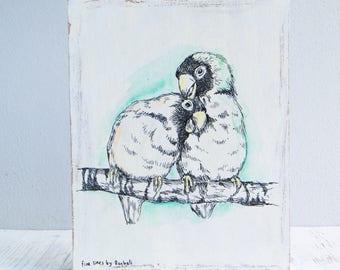 Lustige Valentinstag Geschenk Liebe Vogel Becher Etsy