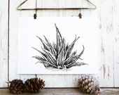 Poster Art Download, Printable Wall Art Nature, Nature Prints, Nordic Art, Realistic Art, Botanical Print, Nature Wall Art, Aloe Vera