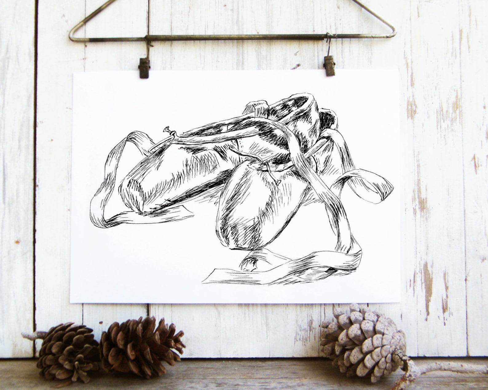 digital download wall art, modern nursery print, teen wall art, unique art prints, dorm decor, nursery wall art girl, ballet sho