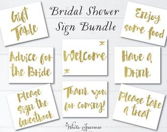 gold bridal shower signs 8x10 bridal shower decorations gold bridal shower bridal shower sign signs for bridal shower gold shower