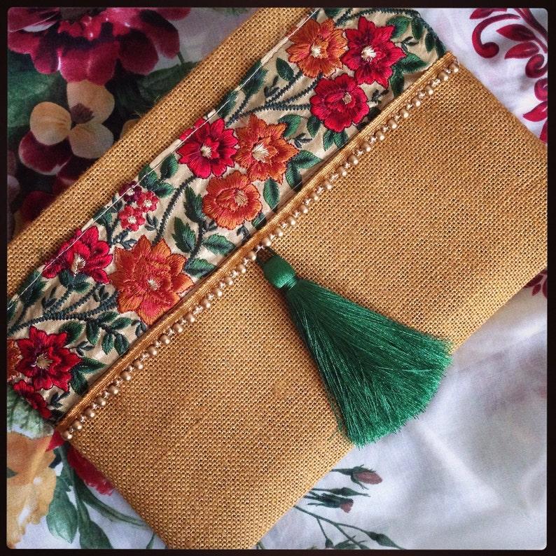 f3cccdee4 Embrague floral, étnico embrague, embrague bohemio, bolso étnico, las  mujeres bolso, regalo hecho a mano, verano encuentra, regalo para ella, ...