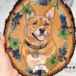Custom Pet Portrait, wedding art, custom wedding art, Pet painting, wood burning, pyrography, custom pet painting, wood art, custom dog art,