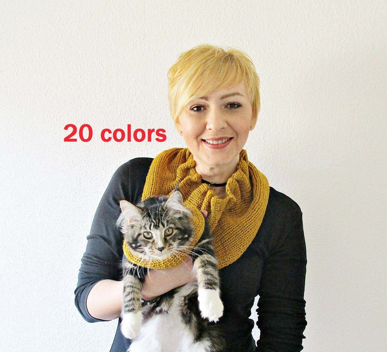 55301b98c8d Matching scarves Matching pet owner scarfs dog and me cat and