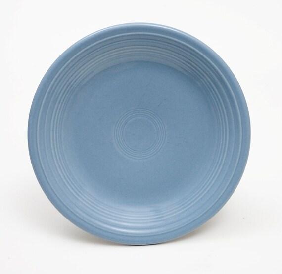 """Fiestaware 10.5/"""" Periwinkle Plate"""