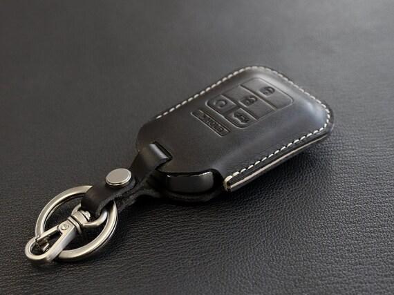 Honda Pilot Brown Leather Key Ring