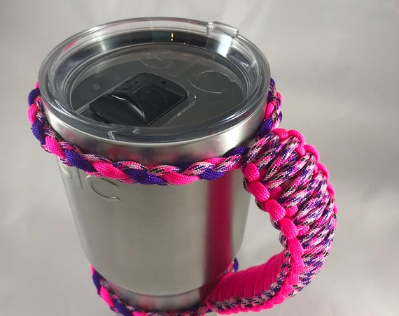 Paracord 30 oz Cup Handle, SIC, Yeti, Ozark Trail