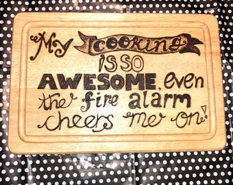 Funny quote chopping board