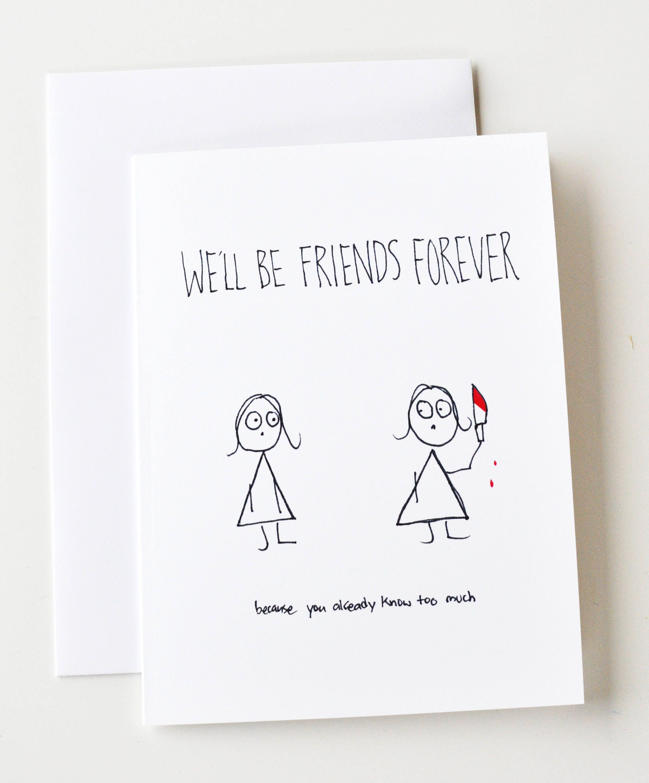 Friendaversary Friendship Birthday Valentines Day Etsy
