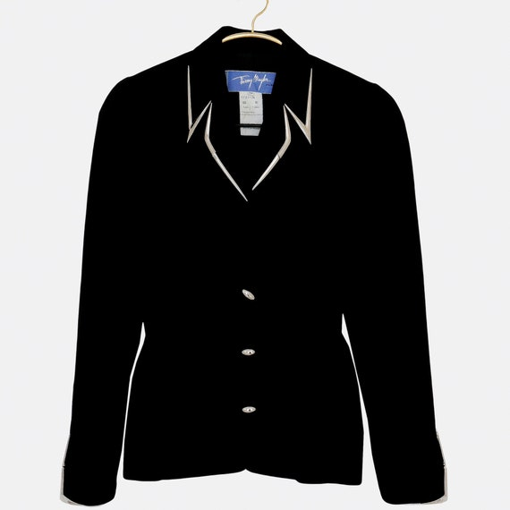 THIERRY MUGLER Vintage Futurstic Blazer Jacket - image 1