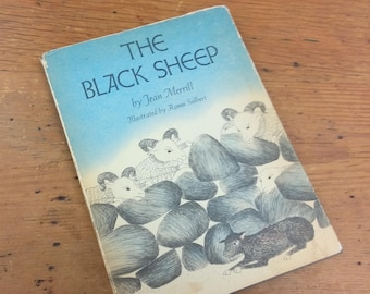The Black Sheep by Jean Merrill 1969 Illustrated Children's 1969 Illustrated Hardcover Pantheon Book First Edition