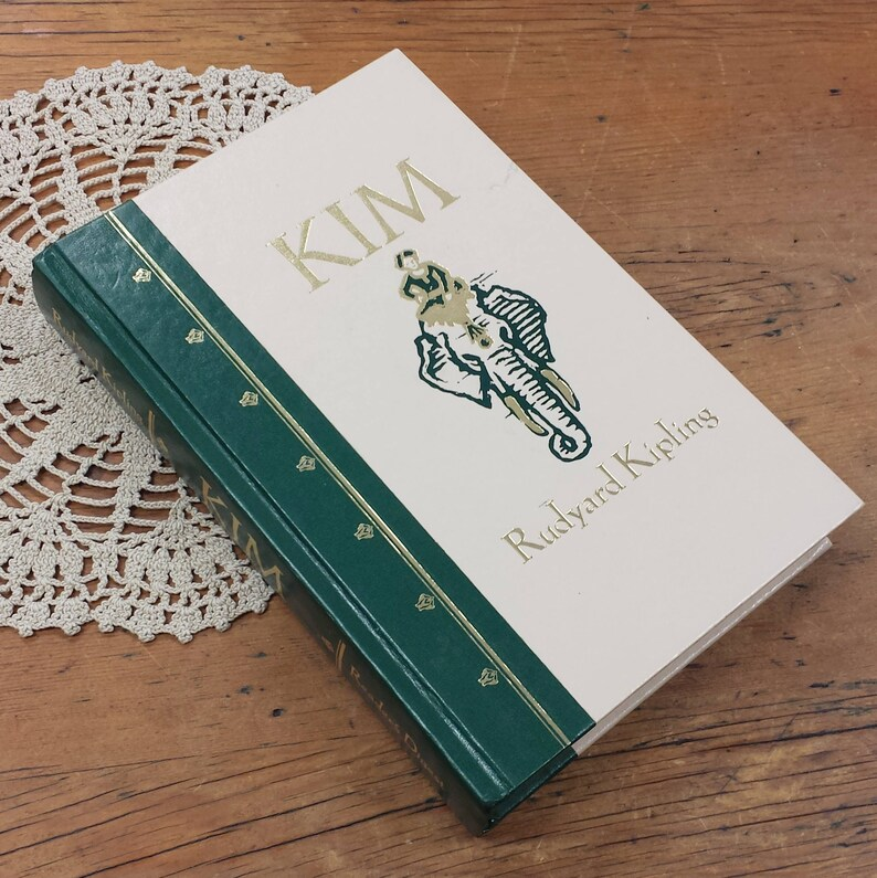 Kim By Rudyard Kipling 1990 Readers Digest Novel About Life In India
