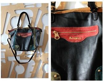51cd5d9f5921 SOLDLeather bag Weekender bag Leather duffle bag Shoulder bag Festival  Preppy Hipster Hippie Folk