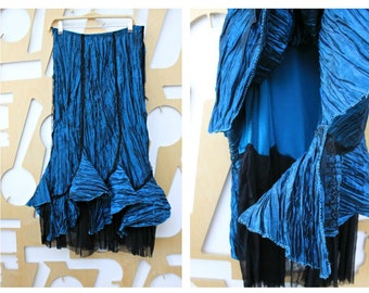 6d8a7384099 Mermaid skirt Taffeta skirt