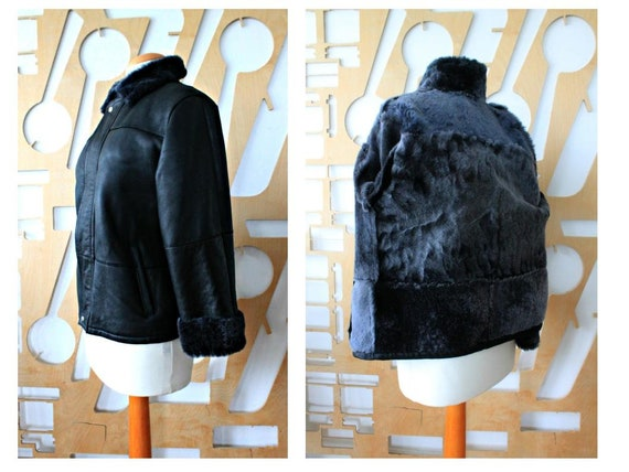 Leather jacket Suede jacket Shearling coat Steampu