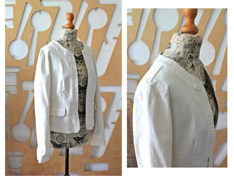 Wedding jacket Beach wedding Wedding outfit Summer wedding Linen jacket Cotton coat Linen coat Bolero jacket Linen blazer Bride jacket Boho
