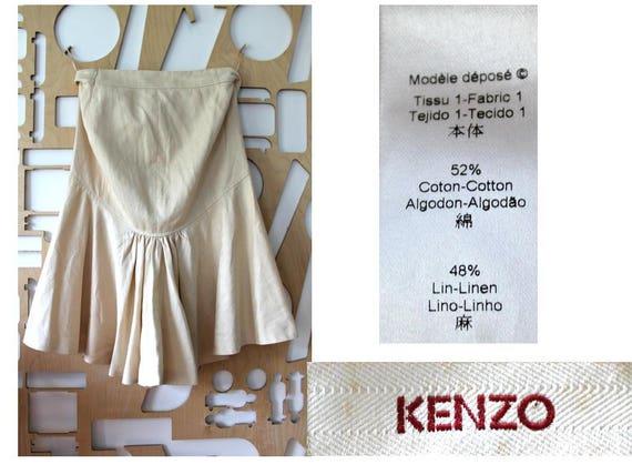 KENZO Linen skirt Beach wedding Wedding Bridesmaid