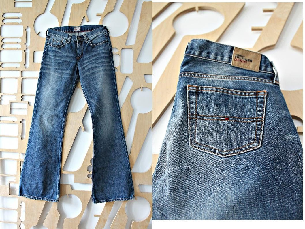 jeans la mode dark laver les pantalons en denim casual wear etsy. Black Bedroom Furniture Sets. Home Design Ideas