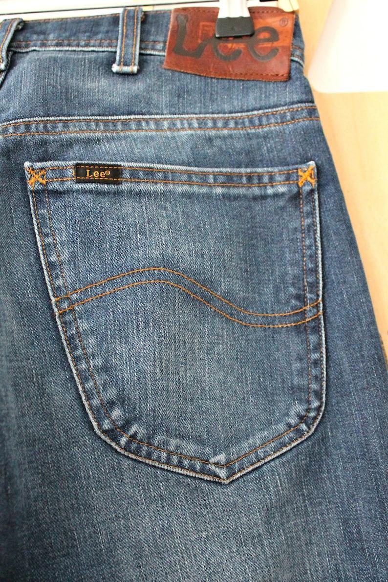 Lee jeans High Waisted Jeans Bell jeans Wide leg jeans Denim pants Casual wear Waist 28 Hipster Boho Hippie Grunge Denim trousers Mom jeans