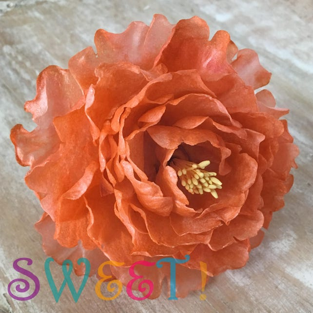 Edible peonies large wafer paper flowers for cakes wedding etsy edible peonies large wafer paper flowers for cakes wedding cake decorations tree peonies mightylinksfo