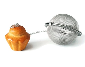Brioche Parisienne - polymer clay tea ball