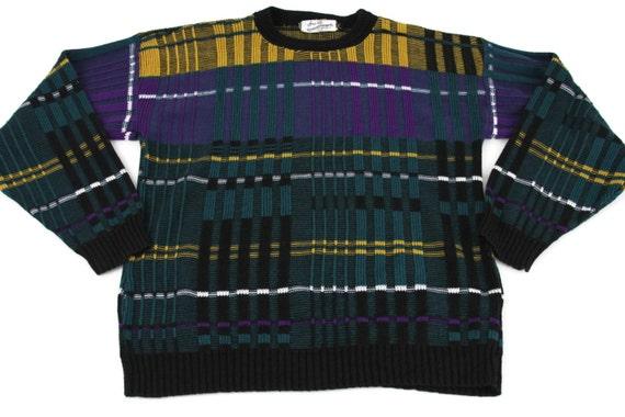 Sears Roebuck Vintage 100 Virgin Acrylic Ugly Sweater Size X Etsy