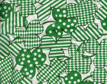 Happy Go Lucky 100% cotton fabric- sold by the yard   #288