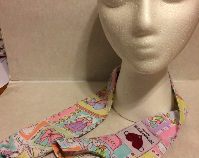 Easter print, fabric stethoscope cover