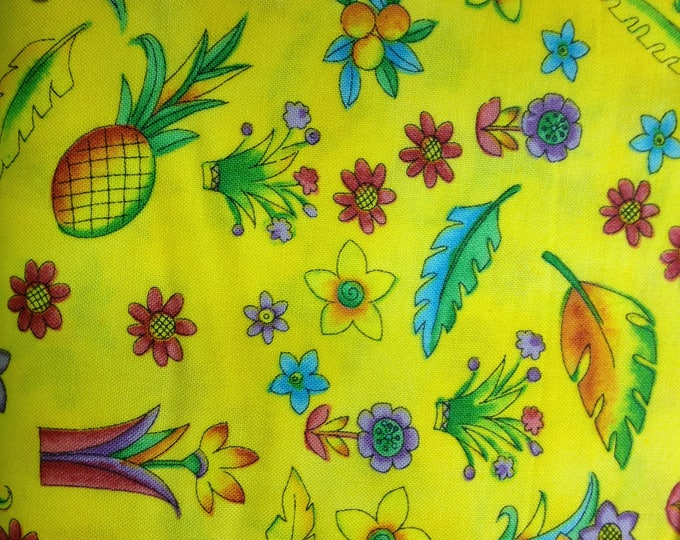 Zippy Jungle  100% cotton fabric, sold by the yard   #274