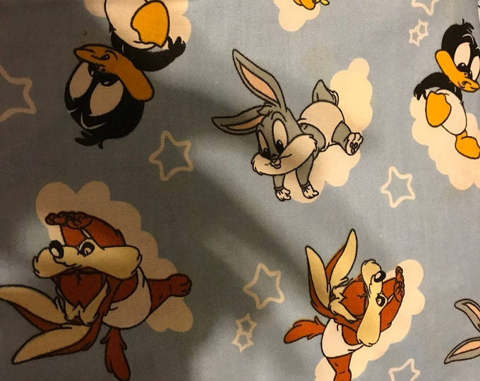 Looney Tunes baby fabric, sold by the yard
