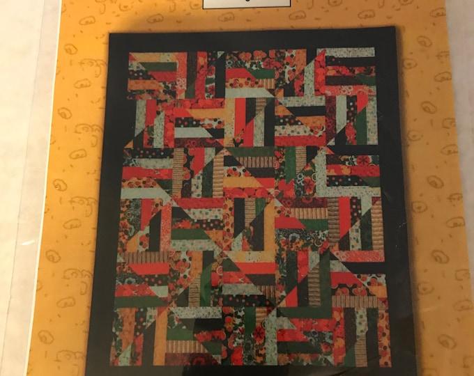 Diamond Jubilee strip quilt pattern