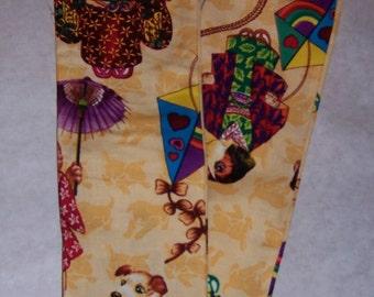 Cute dogs in colorful kimonos, fabric sethoscope cover