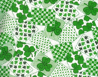 Lucky Cards 100% cotton fabric- sold by the yard  #289