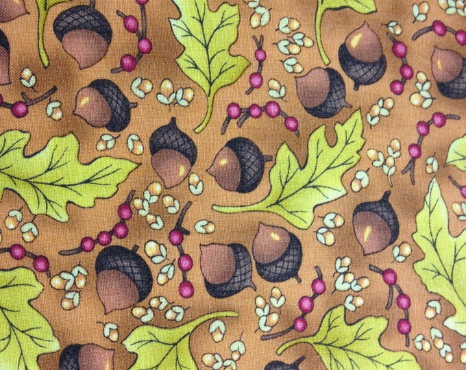 Cinnamon Spice 100% cotton fabric, sold by the yard