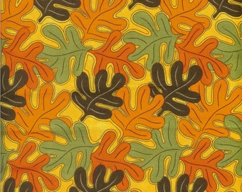 Leaves Gone Wild fabric- sold by the yard   #180