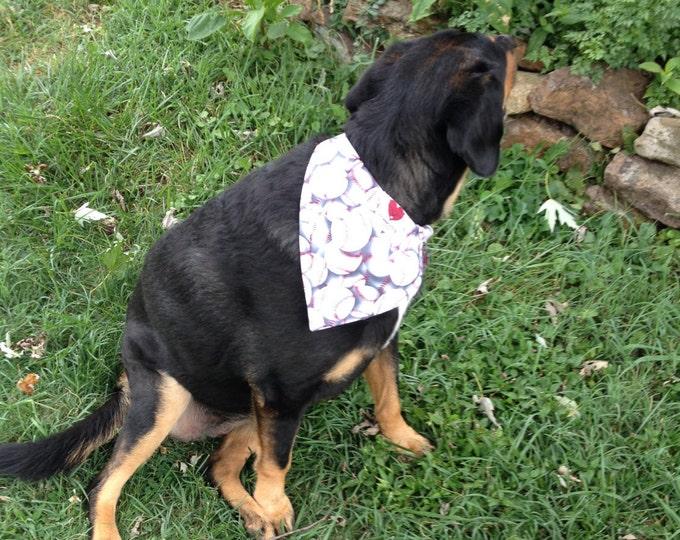 Sports themed dog bandanas