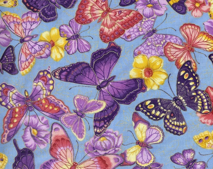 Spring Fever 100% cotton fabric- sold by the yard   #25