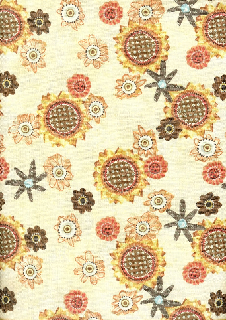 Greet the Day 100/% cotton fabric #397 multiple lengths sold by
