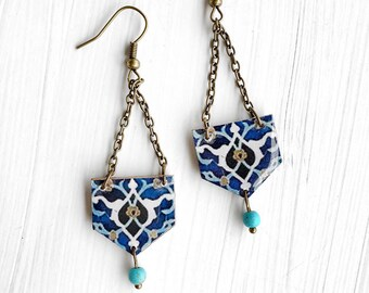 SORAYA triangle earrings