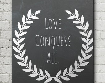 Love Conquers All Print