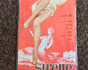 Vintage Stockings Sirene German 1960s