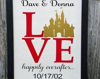 disney wedding gift etsy